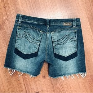 DKNY Distressed Shorts
